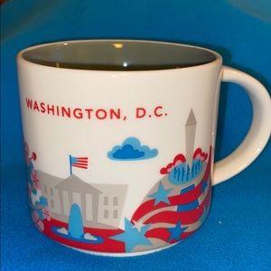 "Starbucks You Are Here Mug ""Washington, DC"" NWOT"